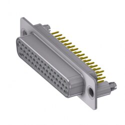 HD-D44SY/2M86UN-DELTRON D-Sub high-density socket 44P SPQ:44