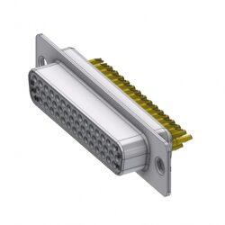 HD-D44SZ/2-DELTRON D-Sub Socket 44 High Density QC2 SPQ:44