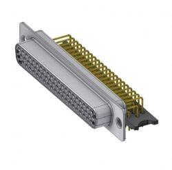 HD-D62SYC/2-DELTRON D-Sub high-density socket 62P SPQ:24