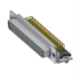 HD-D62SYC/2M47HUN-DELTRON D-Sub high-density socket 62P SPQ:24