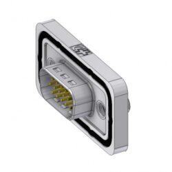 HD-DWM15PZ/2M85UN-DELTRON D-Sub Connector High Density Male 15P SPQ:42