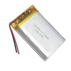 BATTERY PLCT 103450-Dobíjecí baterie: Patron: BATTERY PLCT 103450; 3.7V, Lithium baterie, 1800mAh; 10.3 x 34.5 x 53mm