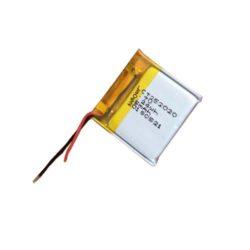 BATTERY PLCT 252020-Dobíjecí baterie: Patron: BATTERY PLCT 252020; 3.7V, Lithium baterie, 65mAh; 2.5 x 20 x 23mm