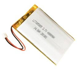 BATTERY PLCT 805085-Dobíjecí baterie: Patron: BATTERY PLCT 805085; 3.7V, Lithium baterie, 4000mAh; 8.3 x 50.5 x 88mm