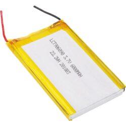 BATTERY PLCT 906090-Dobíjecí baterie: Patron: BATTERY PLCT 906090; 3.7V, Lithium baterie, 6000mAh; 9.3 x 60.5 x 93mm