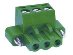 Svorkovnice: MC101-76203-DECA: Svorkovnice MC101-76203 zásuvná Rozteč = 7,62mm; 3 póly; Napětí = 300V; Šířka = 32,56mm