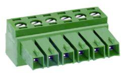 Svorkovnice: MC420-35009-DECA: Svorkovnice MC420-35009 zásuvná Rozteč = 3,5mm; Napětí = 300V; Proud = 10A; 9 Pólů; Délka = 32,3mm