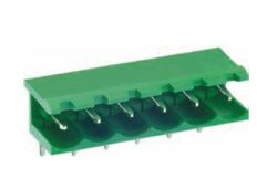 ME010-50802-DECA: ME010-50802 Svorkovnice do DPS nasouvací 90° RM 5,08mm 2 pólové ~ CTB9308/2A0