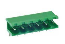 ME010-50803-DECA: Svorkovnice do DPS nasouvací 90° RM 5,08mm 3 pólové