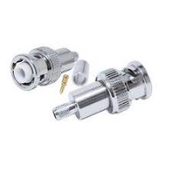 Vysokofrekvenční konektor: MHV-1102-TGN-Schmid-M: Vysokofrekvenční konektory MHV male/plug krimpovací na kabel RG 58U