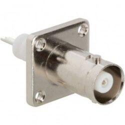 Vysokofrekvenční konektor: MHV-3201-TGN-Schmid-M: Vysokofrekvenční konektor MHV: Vysokofrekvenční konektory  MHV female/jack panelový