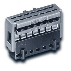 IDC konektor: MKF 13272-6-1-1212-STOCKO: IDC konektor 12P RM2,5mm  S:0,14mm2