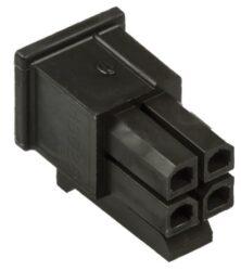 MLX43025-0400-Pouzdro konektoru řada MICRO-FIT 3.0 rozteč 3mm 4cestné 2řadové přímé samice kabelová montáž Molex 43025