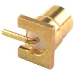 Vysokofrekvenční konektor: MMCX-5211-TGG-Schmid-M: Vysokofrekvenční konektor MMCX female/jack do DPS ~ Huber Suhner  82_MMCX-50-0-8/111OE 22652153