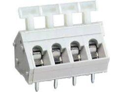 Svorkovnice: MWX101-50804-DECA: Svorkovnice: MWX101-50804 Svorkovnice pružinová do DPS RM:5,08mm 04 pólová, 16A/300VDC, H=18,60mm, B=14,30mm ~ WAGO 255-404