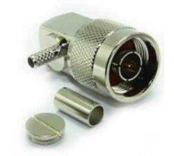 Vysokofrekvenční konektor: N-1119-TGN-Schmid-M: Vysokofrekvenční konektor N male/plug krimpovací na kabel RG 174U, 188A/U, 316U