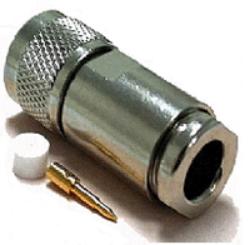 Vysokofrekvenční konektor: N-2120-TGN-Schmid-M: Vysokofrekvenční konektor N male/plug šroubovací na kabel LMR 600