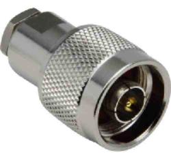 Vysokofrekvenční konektor: N-2140-TGN-Schmid-M: Vysokofrekvenční konektor N male/plug šroubovací na kabel 1/4, L= 38.10, pájka středového vodiče