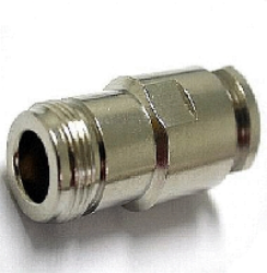 Coaxial Connector: N-2213-TGN-Schmid-M: RF Connector N Straight Jack Clamp for RG 58, 58A, 141A; Huber+Suhner 21 N-50-3-11/133NE 22543921