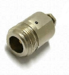 Coaxial Connector: N-2214-TGN-Schmid-M: RF Connector N Straight Jack Clamp for RG 174U, 316U, 178, 188, 179U