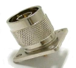 Vysokofrekvenční konektor: N-3103-TGN-Schmid-M: Vysokofrekvenční konektor N male/plug panelový