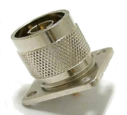Vysokofrekvenční konektor: N-3106-TGN-Schmid-M: Vysokofrekvenční konektor N male/plug panelový ~ Amphenol 4900-RFX