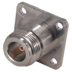 Vysokofrekvenční konektor: N-3212-TGN-Schmid-M: N-3212-TGN Vysokofrekvenční konektor N female/jack panelový ~ 23_N-50-0-1/133_NE 22542272 ~ Rosenberger 53K401-200N5 ~ Huber Suhner 23_N-50-0-1/133_NE ~ Amphenol N6551A1-NT3G-50 ~ J0102H1082