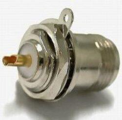 Vysokofrekvenční konektor: N-4201-TGN-Schmid-M: Vysokofrekvenční konektor N female/jack bulkhead; Huber+Suhner 22 N-50-0-2/133NE 22542265; Rosenberger 53K505-200N3