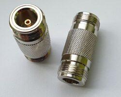 Vysokofrekvenční adaptér: N-602-TGN-Schmid-M: Vysokofrekvenční konektor N adaptér; Huber Suhner 31_N-50-0-2/133NE 22542382 ~ Rosenberger 53K102-K00 N5 ~ Amphenol 82-100