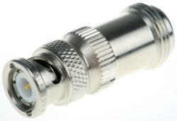 Nj-BNCp-614-DGN-RF Adapter N (Jack) - BNC (Plug)