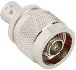 Np-BNCj-613-DGN-Schmid-M: Vysokofrekvenční adaptér N Plug - BNC Jack
