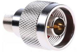 Np-Fj-615-TGN-Schmid-M: Vysokofrekvenční adapter N Plug - F Jack
