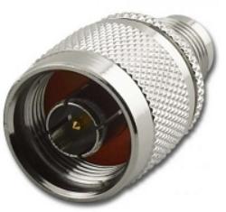 Np-TNCjREV-660-TGN-Schmid-M: Vysokofrekvenční adapter N Plug - TNC RP Jack