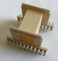 Kostřička: EE-55 P-5501-Patron: Kostřička EE-55 P-5501 22pinů; Materiál kostry = PET FR530 UL 94V-0; Materiál pinů =  Mosaz