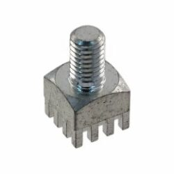 Press-Fit napájecí element : PFPE 0505 - Patron:  Press-Fit napájecí element  Hight Current WtB Connection M5 /8,0mm H:16,0mm  9*9mm Brassalt. Würth 746 138 3
