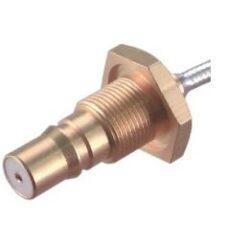VF konektor: QMA-1208d-TGN-Schmid-M: VF konektor: QMA-1208d-TGN Vysokofrekvenční konektor QMA přímý panelový crimpovací Jack Female na kabel RG174 ~ Huber Suhner: 24_QMA-50-2-3/133_NE