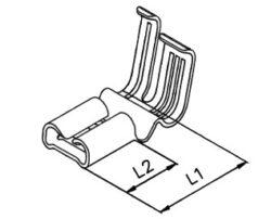 Faston: RSB7936.003F4,8-1,5 Stahl vernickelt-STOCKO: Faston: RSB7936.003F4,8-1,5 Stahl vernickelt