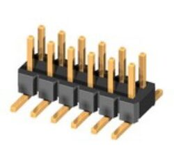 SM C02 2200 52 BD: C=11mm - Pin Header SMD Dual Rows,RM2,54mm 2x26Pin wo/pad H:15,5mm