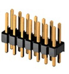 SM C02 6200 26 BS - Pin Header Straight 2Rows,1Ins,RM2,0mm,2x13Pin Ins.H:2,0mm