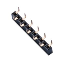 SM C02 2824 16 B - Fem. Header Straight  Sing. Row RM2,54 1x16Pin H:5,0mm Typ B = FHW106-16A01-Type B