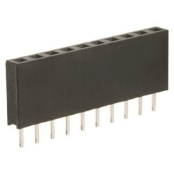 SM C02 4828 08 SHN - Female Header Straight RM1,27mm 1x8pin Single Row H=3,4mm