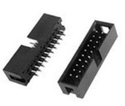 SM C02 3510 16S - Header Box Straight 2x8pin RM2,54*2,54mm,THT H:8,8mm = MLW16G