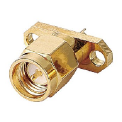 Vysokofrekvenční konektor: SMA-3103-TGG-Schmid-M: Vysokofrekvenční konektor SMA male/plug panelový