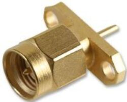Vysokofrekvenční konektor: SMA-3114-TGG-Schmid-M: Vysokofrekvenční konektor SMA male/plug panelový