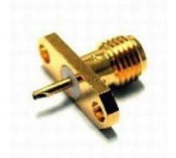 Vysokofrekvenční konektor: SMA-3204-TGN-Schmid-M: SMA-3204-TGN Vysokofrekvenční konektor SMA female/jack panelový ~ Huber Suhner 23_SMA-50-0-11/111_NE 22640095 ~ Rosenberger 32K701-200E3 ~ J01151A0151  ~ Amphenol SMA6551B1-3GT50G-50 ~ Radiall R125454000