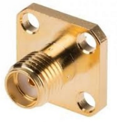 Vysokofrekvenční konektor: SMA-3205b-TGG-Schmid-M: Vysokofrekvenční konektor SMA male/plug panelový = Huber Suhner 23_SMA-50-2/111_NE 22640091