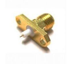 Vysokofrekvenční konektor: SMA-3215-TGG-Schmid-M: SMA-3215-TGG Vysokofrekvenční konektor SMA female/jack panelový, pro Microstrip Line Circuits ~ Rosenberger 32K241-200L5 ~ Telegartner J01151A0631 ~ J01151A0721