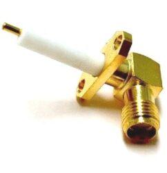 Vysokofrekvenční konektor: SMA-3220-TGG-Schmid-M: SMA-3220-TGG Vysokofrekvenční konektor SMA female/jack panelový ~ Huber Suhner 28_SMA-50-0-1/111_NH  22650703 ~ TE 2054-1241-02