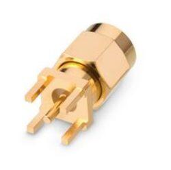 Vysokofrekvenční konektor: SMA-5101b-TGG-Schmid-M: SMA-5101b-TGG Vysokofrekvenční konektory SMA: RF Connector SMA Straight Plug/Male PCB Mount ~ WE 60314002124524 ~ Cinch 142-0801-201 ~ Amphenol RF 901-9895-RFX ~ Amphenol Connex 132133