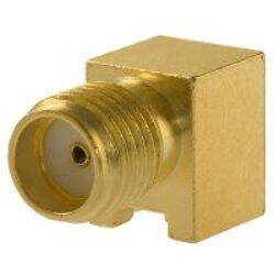 Vysokofrekvenční konektor: SMA-5204-TGG-Schmid-M: Vysokofrekvenční konektor SMA female/jack do DPS